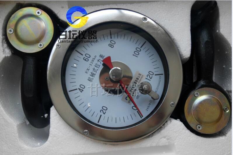 10吨表式拉力计 防爆_测拉、测重2用/型号FX